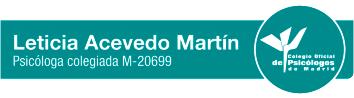 psicóloga colegiada M-20699